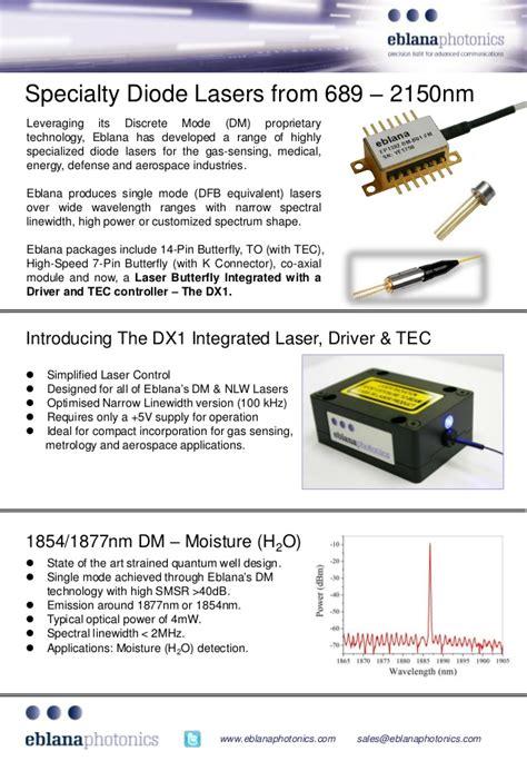 laser diode used in optical fiber communication e brochure laser diode gas sensor atomic clock fiber optic test