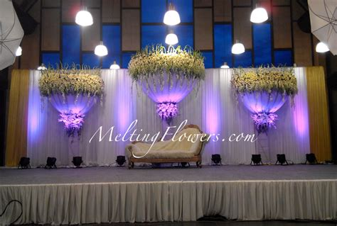 House Decoration Ideas by Wedding Backdrops Backdrop Decorations Melting Flowers