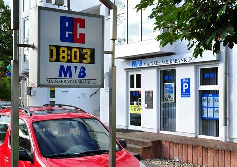 banken in mainz mainzer volksbank eg sb stelle laubenheim banken mainz