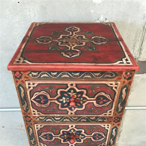 Moroccan Dresser by 5 Drawer Painted Moroccan Dresser Urbanamericana