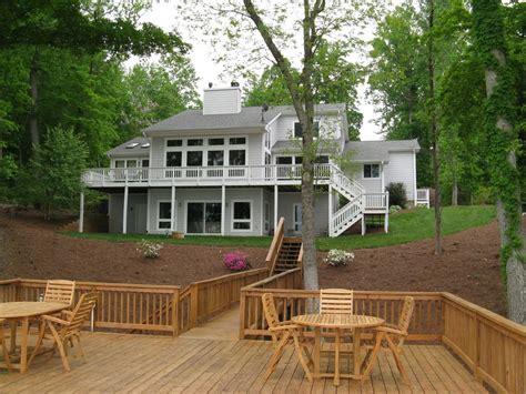 lake gaston house rental spacious lake home great location spectacular views homeaway