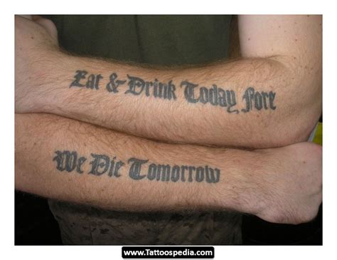 great tattoo quotes for men great quotes for quotesgram