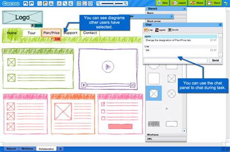 10 excellent tools for creating web design wireframes