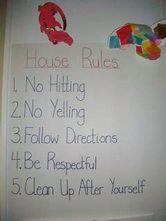 8 best images of supernanny house rules chart kids