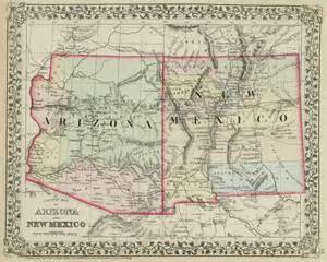 map of new mexico and arizona immaginieuropa