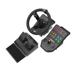 Steering Wheel And Joystick For Farming Simulator For Sale Saitek 174 Farming Simulator Equipment Bundle For Pc