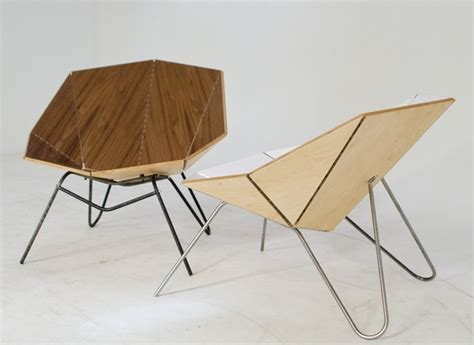 Paper Folding Chair - cut fold origami chair most stylish folding chair