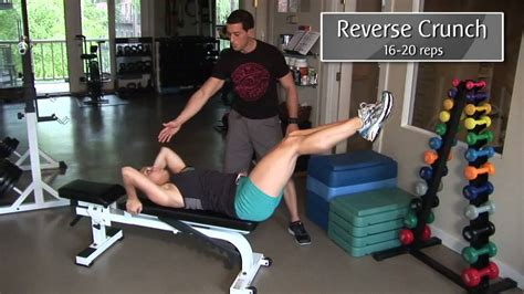 ab bench workouts lower ab workout youtube