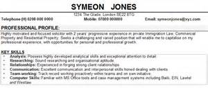 personal interests resume solicitor cv sample