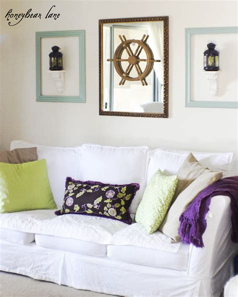 adding purple accents in your home decor honeybear