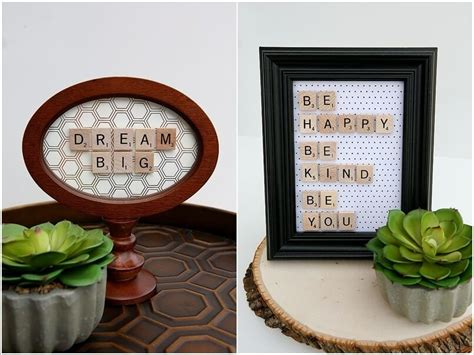10 creative scrabble inspired home decor ideas