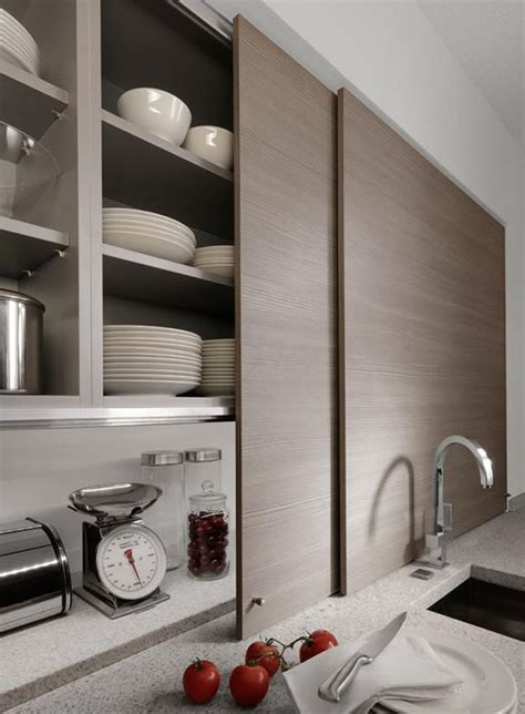 kitchen cabinets with sliding doors 15 storage ideas to from high end kitchen systems