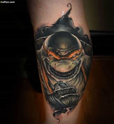 cartoon realism tattoo 40 best animated leg tattoos designs realistic 3d