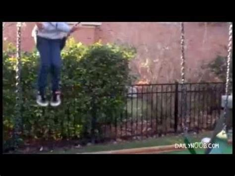 swinging gone wrong fail compilation 17 swing stunts gone wrong youtube