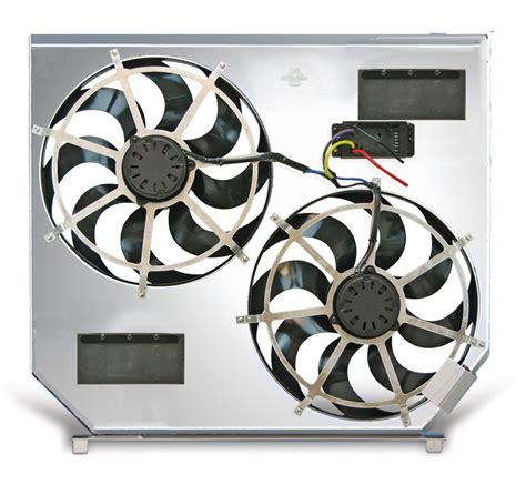 flex a lite electric fan flex a lite automotive direct fit dual electric fans for