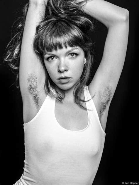 unshaven modern women natural ben hopper natural beauty do hairy armpits make skinny girls hot
