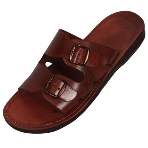 handmade mens leather sandals sea handmade leather s sandals brown clothing