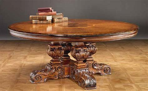 high end accent tables high end furniture solid walnut dining table hand carved