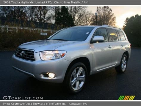 2009 Toyota Highlander Limited Classic Silver Metallic 2009 Toyota Highlander Limited