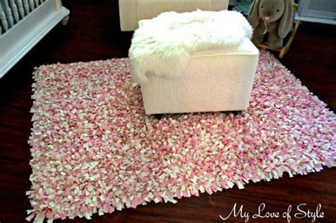 how to make a shaggy rag rug diy shag rag rug tutorial easy stylish home decor