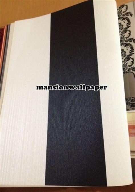 jual wallpaper dinding garis hitam putih row besar