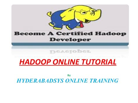 online tutorial net hadoop online tutorial hadoop tutorial online course in