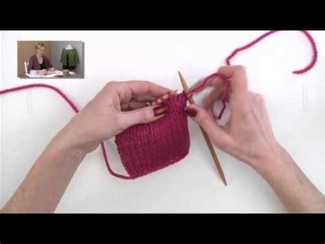 m1b knitting m1b make 1 below knitting tutorials