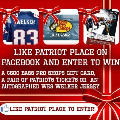Can I Use Bass Pro Shop Gift Cards At Cabela S - pin by new england patriots on win stuff pinterest