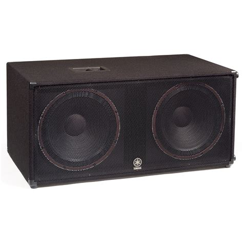 Speaker Subwoofer Yamaha sound equipment speakers lone percussion