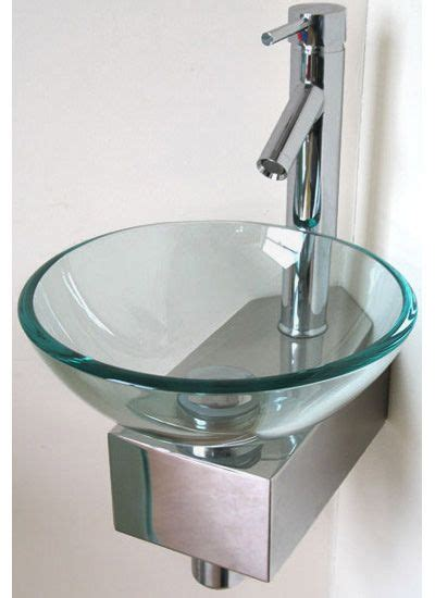 bathroom glass basins best 25 glass basin ideas on pinterest