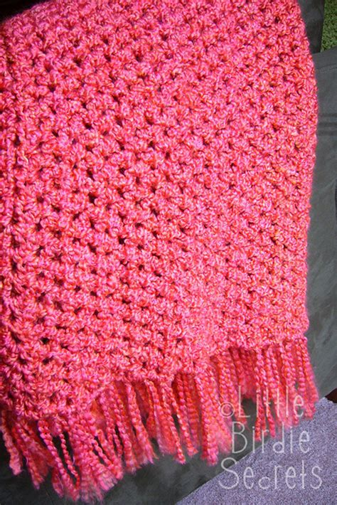 Crochet Pattern Quick Afghan | quick and simple crocheted afghan easy crochet