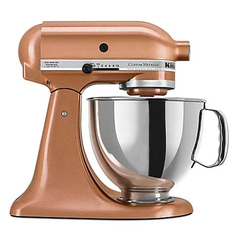 kitchenaid bed bath and beyond kitchenaid 174 5 quart artisan custom metallic stand mixer