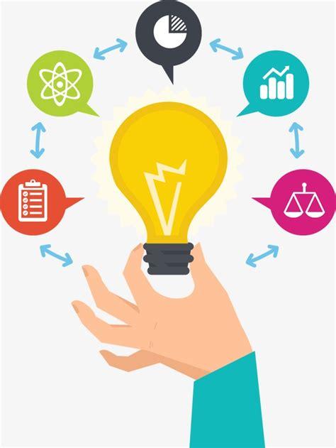 creative clipart creative idea idea light bulb electric light png image