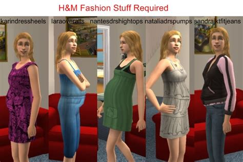 sims 3 teen pregnancy clothes mod the sims h m maternity default replacements