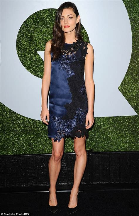 Phoebe Tonkin smoulders at the GQ Men Of The Year Awards in LA   Daily Mail Online