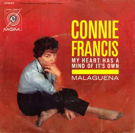 Its Not The Best Week For Joe Francis by 45cat Connie Francis My Has A Mind Of Its Own
