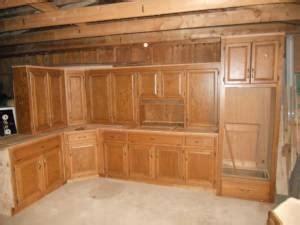 niceusedcustom oak kitchen cabinets cumming ga