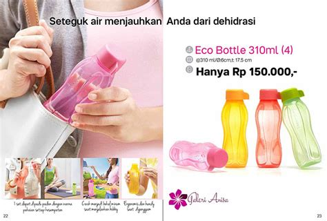 Terbaru Tupperware Eco Bottle eco bottle 310ml tupperware katalog promo tupperware