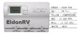 thermostat digital standard heat cool 12v 6 wire coleman mach thermostat 8330 3362