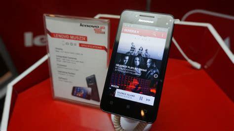 Handphone Lenovo Muszik handphone dan komputer semakin beredar di indonesi