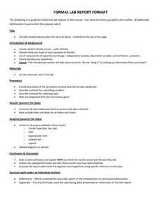 ib lab report template scientific data 7 formal lab report template formal