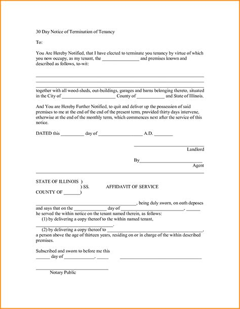 30 day eviction notice template how to write eviction notice free payslip template south