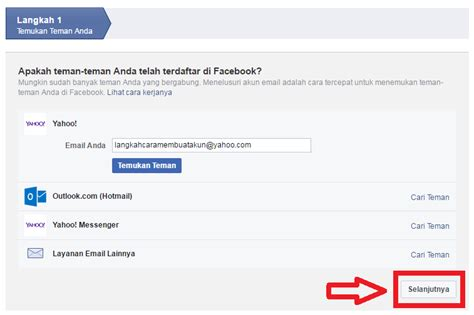 yahoo membuat akun baru daftar akun facebook baru di yahoo bikin facebook baru
