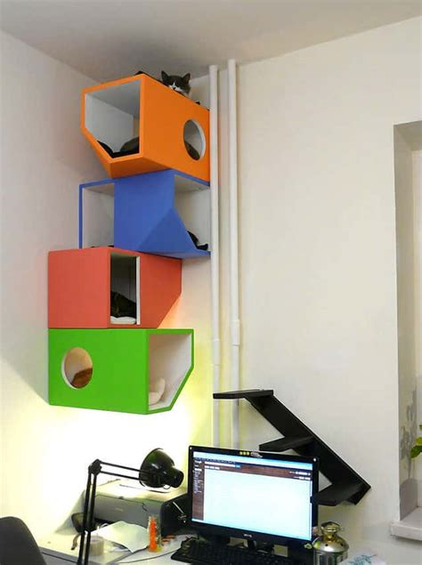 catissa modern  storey cat home