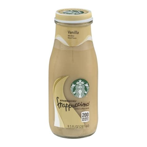 Vanilla Coffee Frappuccino starbucks frappuccino vanilla chilled coffee drink 13 7oz