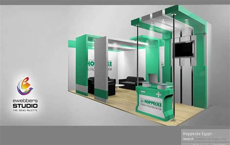 booth design price ewebbers hoppecke 3d exhibition booth design