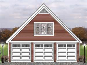 Detached 3 Car Garage Plans by Detached 2 Car Garage Plans With Loft House Design And