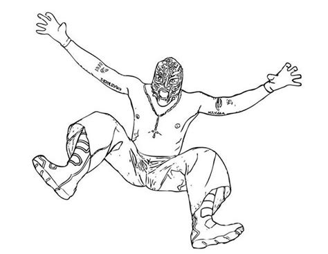 wrestler coloring pages ninja kid coloring page super