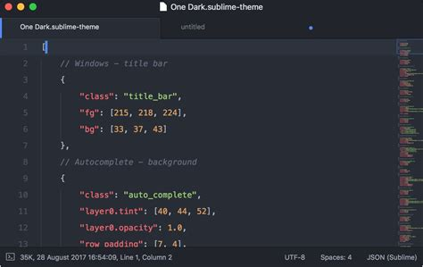 sublime text 3 brackets theme macos can i change the title bar of sublime text is