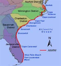 the intracoastal s army corps of engineers districts